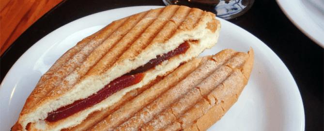 pan con guayaba