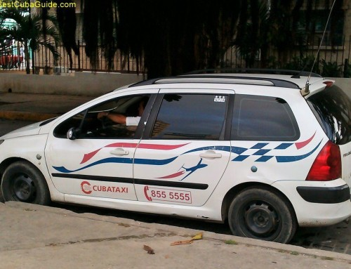 New State taxi in Cuba