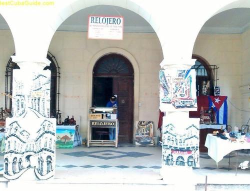 Vendors in Vedado, Cuba