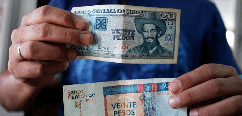 cuba money conversion currency valuation eliminating the 2 currencies cuc cup