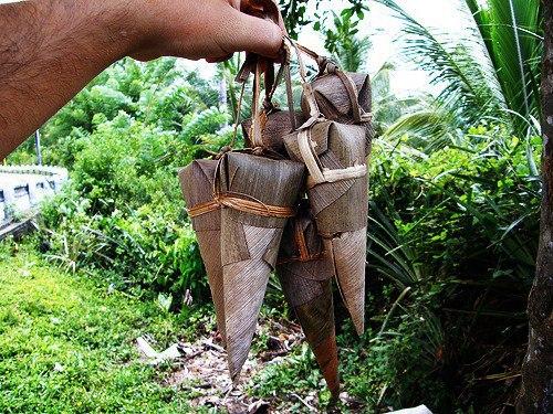 cucurucho havana cuba snacks, mostly found in the countryside