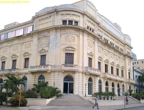 Restored Theater in Vedado
