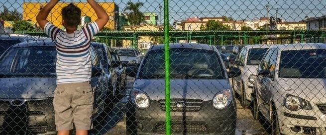 cuban car sales