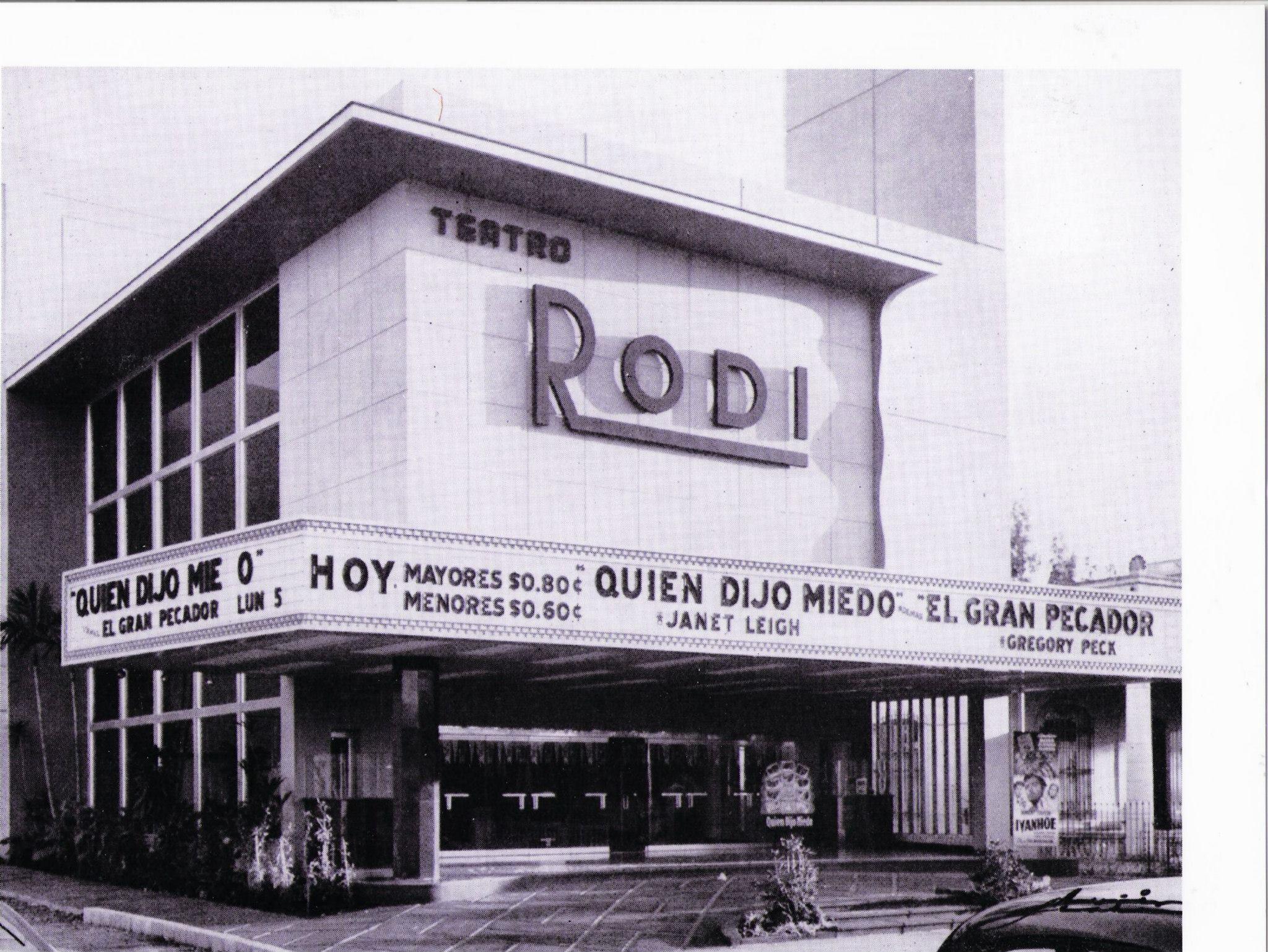 Teatro Rodi (Now called Mella) Linea Street, Vedado, La Habana