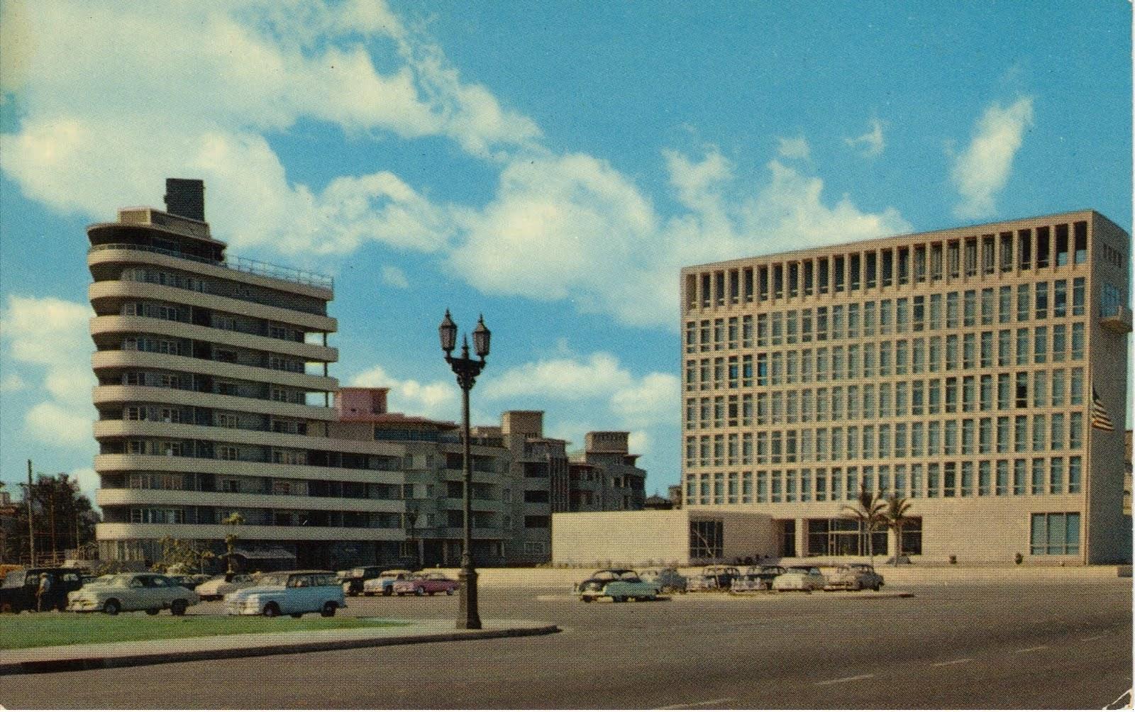 United States Embassy in Vedado, 1955