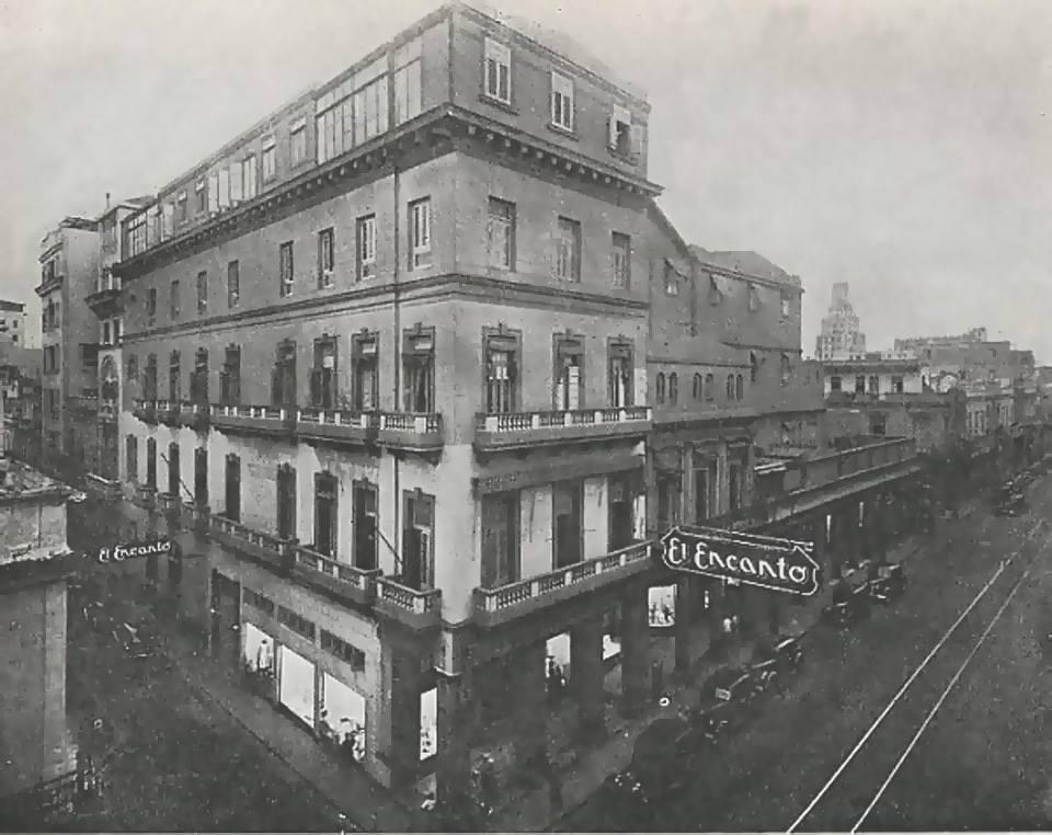 El Encanto Store, Corner Galiano y San Rafael, La Habana, ca. 1935