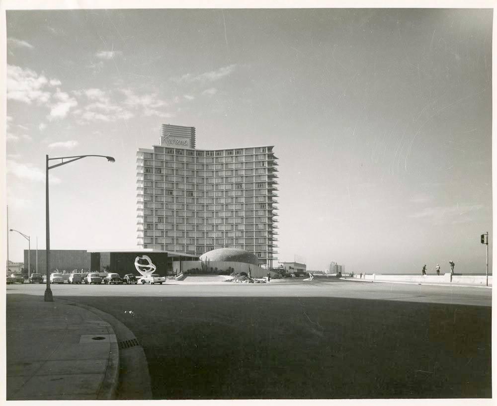 Hotel Habana Riviera en 1957, Vedado, La Habana.