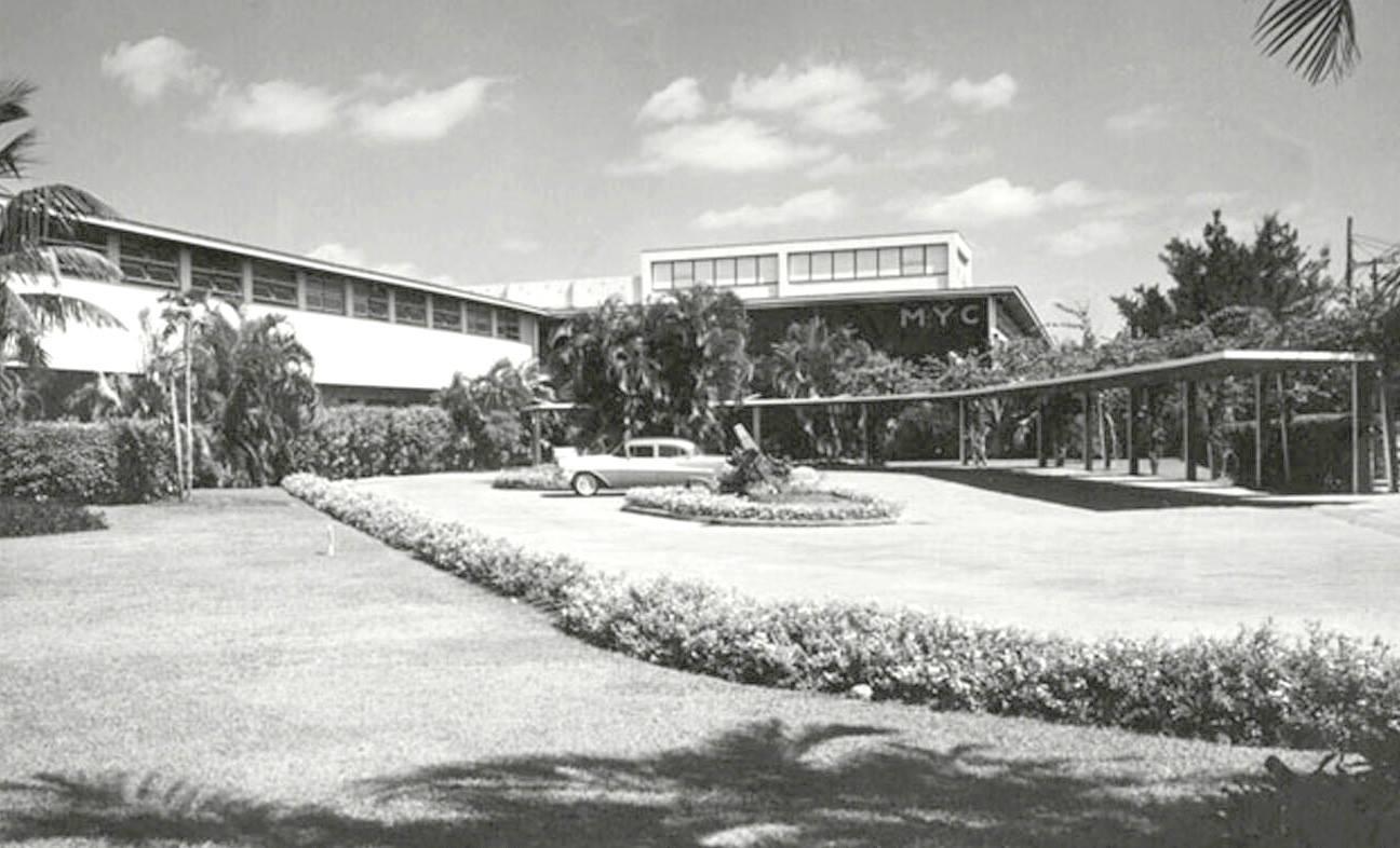 Miramar Yacht Club (Now Casa Central de las FAR). Miramar, La Habana, ca. 1957.