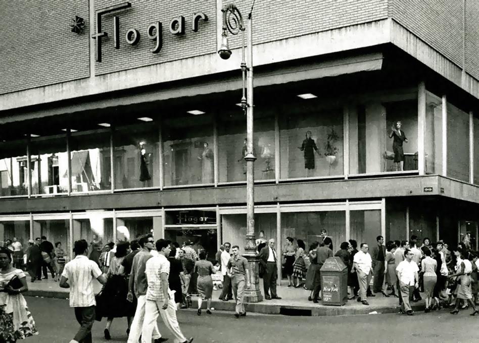 Flogar Store Corner Galiano y San Rafael, La Habana, Ca. 1958 - Credit to Sr Carlos Alberto Fleitas for the photo.