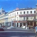 Prado y Neptuno, Hotel Telégrafo, La Habana, Ca. 1955