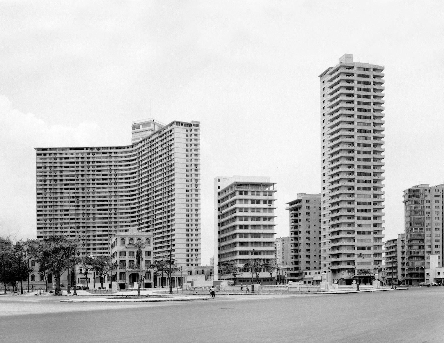 El Vedado, La Habana. c. 1958.