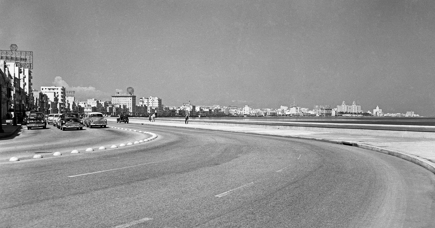 El Malecon, La Habana, c. 1956.