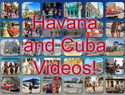 Havana and Cuba videos online!