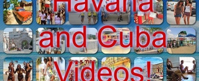 havana and cuba videos montage